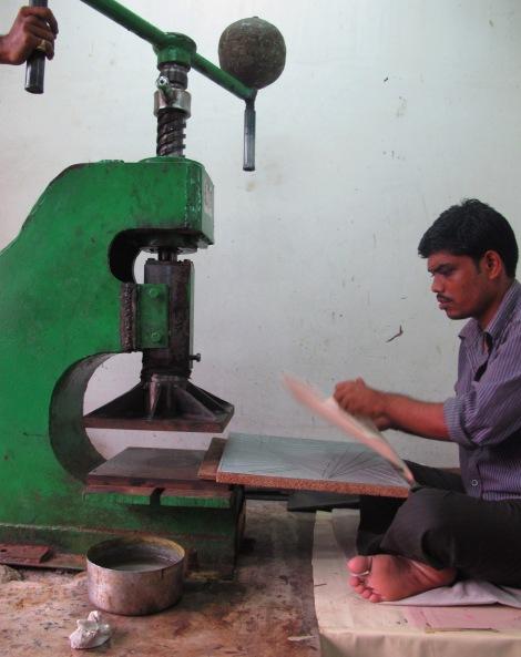 Embossing Shanti Leather