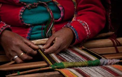 Weaving;photo by Margaret E. Poggio